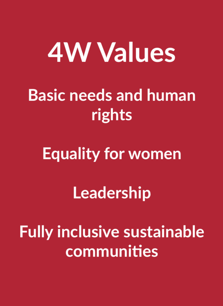 4W Values