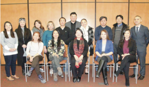 Participants at the Hmong Leadership Training in March 2019, facilitated by Hmong Institute Board President Mai Zong Vue and Consultant Yengyee Lor of Faithful Consulting.