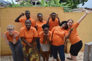 Photo from Aberdeen Leary's 2018 internship in Ghana.