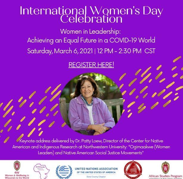 flyer for international women's day