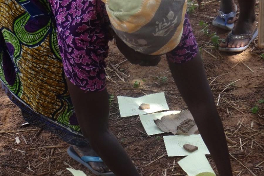 Women's Empowerment in Agriculture participant participating in a program.
